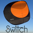 Switch - Single-line Stunt Kite - ORANGE Alain Micquiaux