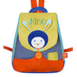 Back bag with embroidered first name - Arsène Bunny L'Oiseau Bateau