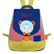 Back bag with embroidered first name - Willis Bear L'Oiseau Bateau