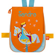 Back bag with embroidered first name - Prince and wooden Horse L'Oiseau Bateau
