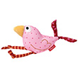 Quietsch Quatsch - Grasp toy - Pink Bird