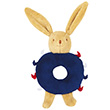 Bunny rattle Ring Navy Blue 12cm Trousselier