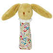 Rattle Squeaker Bunny Red Flower 17cm Trousselier