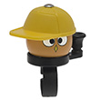 Bike Bell Yo Man Yellow - Liix Funny Bell