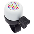Bike Bell Polka Dots White - Liix Micro Bell Ø35mm