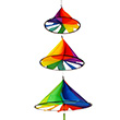 Hexenhut Triple Rainbow - Hanging Outdoor Deco Colours in Motion