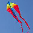 F-Tail Dart Rainbow Large Single-line Kite Colours in Motion