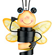 Jiggly Ornament Bee - Hanging Outdoor Garden Decor Regal Art & Gift