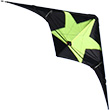 Rocket Black/Yellow - Stunt Kite for beginners Wolkenstürmer