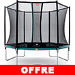 Trampoline BERG Talent avec filet de protection Confort BERG