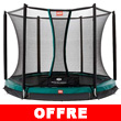 Trampoline BERG InGround Talent avec filet de protection Confort InGround Talent 240
