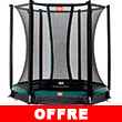 Trampoline BERG InGround Talent avec filet de protection Confort BERG