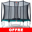 BERG Trampoline Favorit + Safety Net Comfort Favorit 380