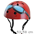 Helmet Red Goggles - Size M (5 years+) Kiddimoto