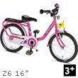 Puky Z6 Children's Bike (16 inch) - Pink Puky