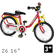 Puky Z6 Children's Bike (16 inch) - Red Puky