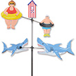 Carousel Spinner Shark Bait - Garden Decor Premier Kites & Designs