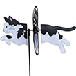 Black and White Cat 48cm - Petite Spinner Premier Kites & Designs