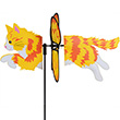 Long Hair Ginger Cat 48cm - Petite Spinner Premier Kites & Designs