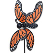 Outdoor WhirliGig Spinner Monarch Butterfly 50cm Premier Kites & Designs