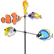 Carousel Spinner Salt Water Fish - Garden Decor