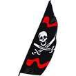 Pirate Jolly Roger Banner - Feather Banner Premier Kites & Designs