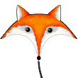 Fox - Large Single-line Kite for kids