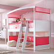 Matti White/Pink Play Bed Complete - Showroom Model Haba