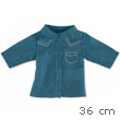 Blue Shirt for Ma Corolle 36cm Doll