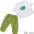 Africa Pajamas Set for Ma Corolle 36cm Doll Corolle