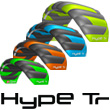 Peter Lynn Hype Trainer with control bar 1.6 - Charcoal/Green