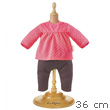 Raspberry Blouse & Denim for 36cm Doll Corolle