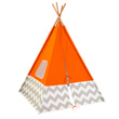 Play Teepee - Orange Chevron