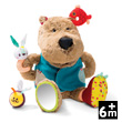 César well fed bear - Plush Baby Toy Lilliputiens