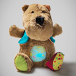 César musical nightlight - Bear Comforter Lilliputiens