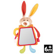 Mirror rabbit - PlayQ Soft Toy for Toddlers Sigikid