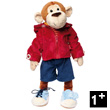 Teaching Monkey - Educational Stuffed Animal for Toddlers - PlayQ Sigikid
