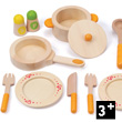 Gourmet Kitchen Starter Set - Wooden Toys Hape Toys
