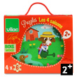 Four Seasons - 4 wooden puzzles in a wooden box Vilac