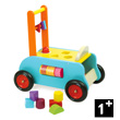 3-in-1 Push-along Trolley - Wooden Toy Vilac