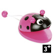 Animal Castagnette - Pink ladybird - Wooden Toy Vilac