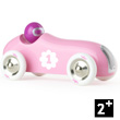 Vilac Old Sport Wooden Car - Pink Vilac