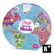 Giant Puzzle World map (500 pieces) Vilac