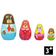 Goldilocks Nesting Dolls Vilac