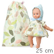 Organic baby Ecolo doll 25 cm Petite feuille Petitcollin