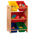5 Bin Storage Unit - Natural & Primary KidKraft