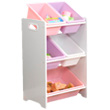 5 Bin Storage Unit - White KidKraft