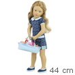 Starlette 44cm Doll - Milena and her baby doll - Sylvia Natter Petitcollin