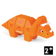 Funny Animal Kit Triceratops - Wooden Puzzle Janod