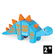 Funny Animal Kit Stegosaurus - Wooden Puzzle Janod